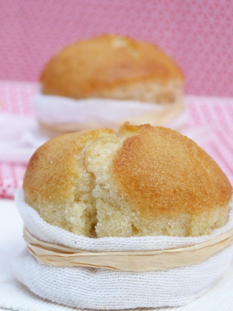 muffins amb gamoneo i confitura de tomàtiga