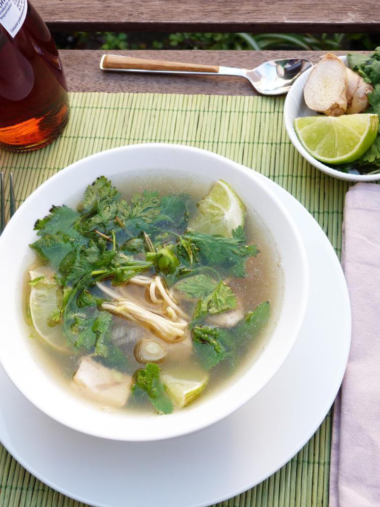 Pho bo , sopa vietnamita